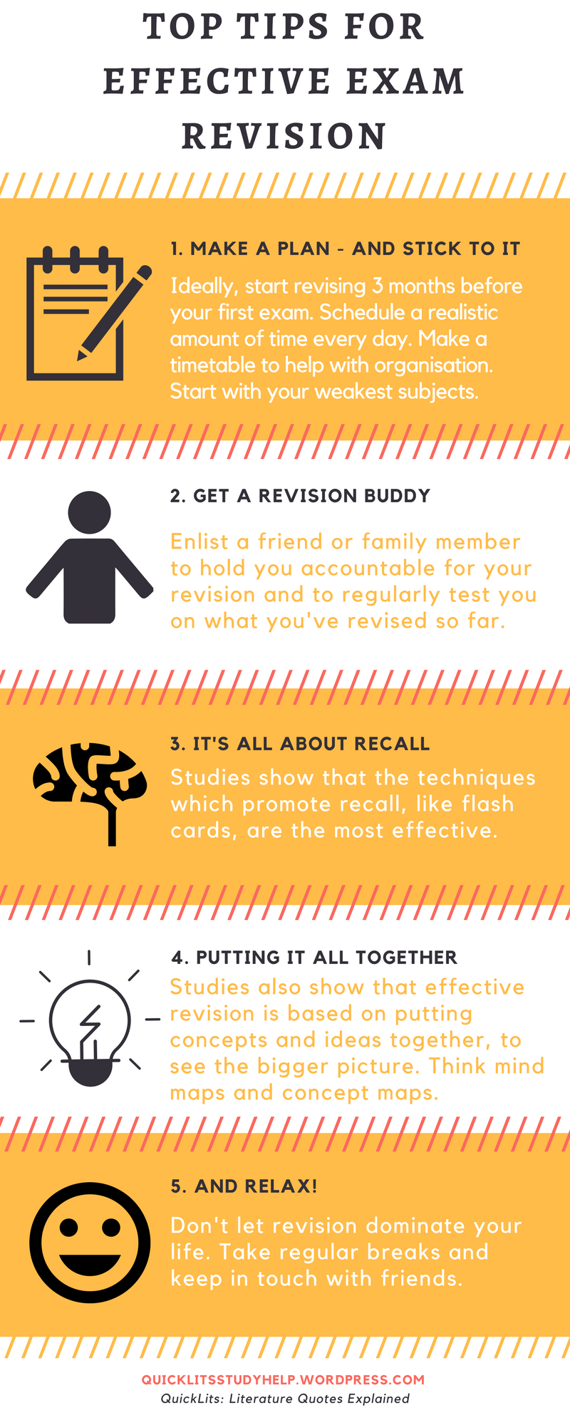 Top tips for effective exam revision
